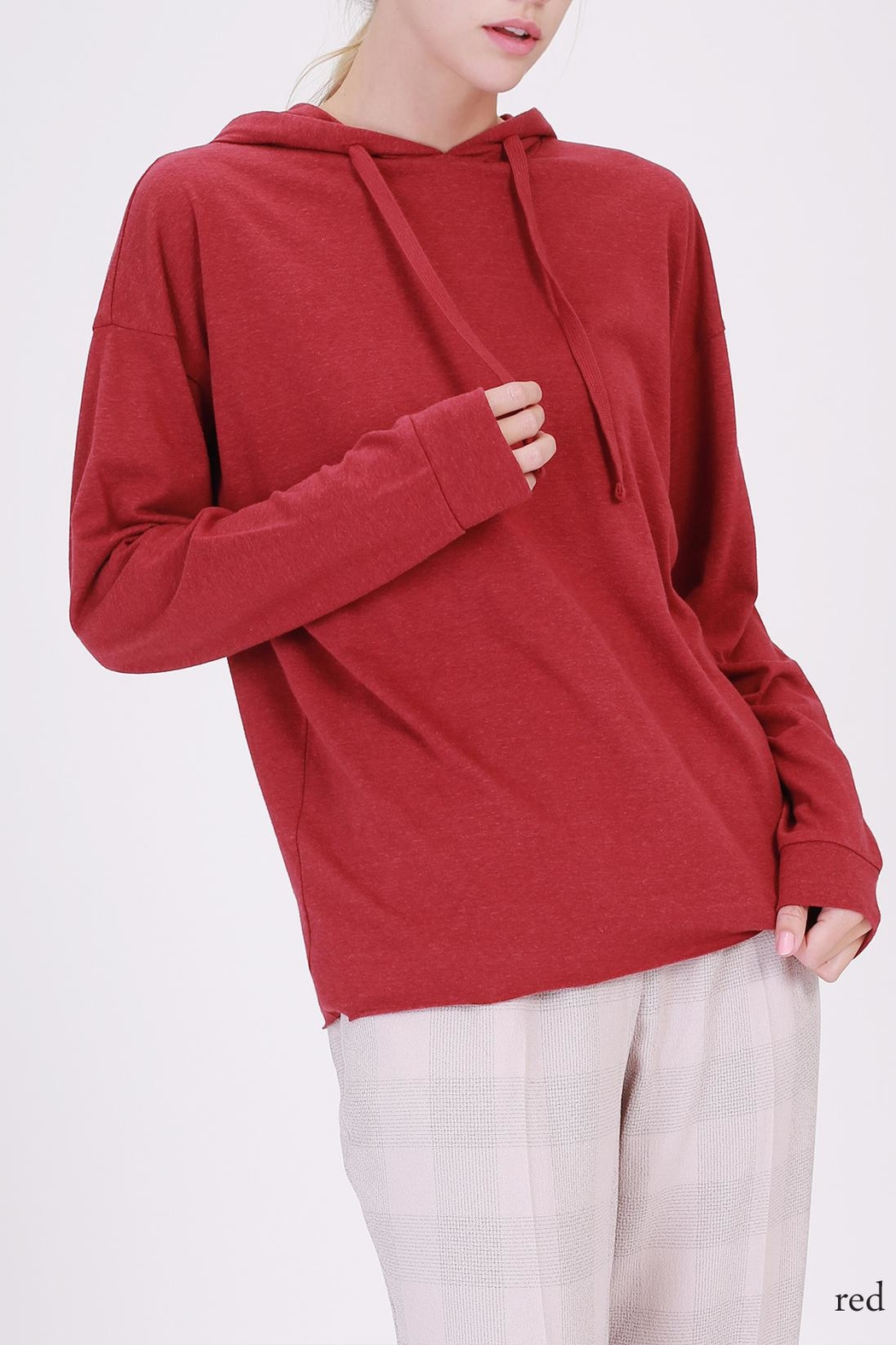 Double Zero The Perfect Hoodie - Front Cropped Image