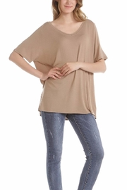 Double Zero The Slouchy Tee - Front full body