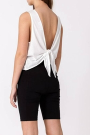 Double Zero Tie-Back Tank - Front cropped