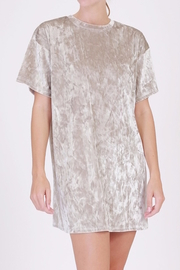 Double Zero Velvet T-Shirt Dress - Product Mini Image