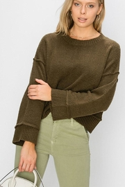 Double Zero Wide Sleeve Pullover - Front cropped