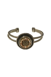 House and Garden Boutique Doublecuff Snap Bracelet - Front cropped