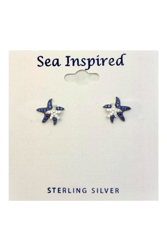 Presco Doublestarfish Sterlingsliver Earrings - Product List Image
