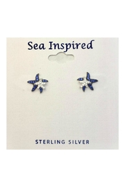 Presco Doublestarfish Sterlingsliver Earrings - Product Mini Image