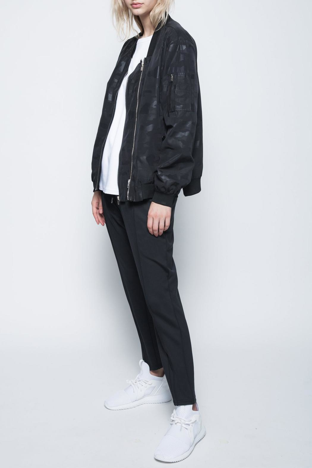 VOICE OF INSIDERS Doublezip Aviator Jacket - Side Cropped Image