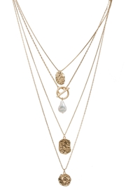 Saachi Doubloon Layered Necklace - Side cropped