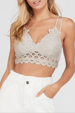 Shoptiques Product: Dove Crochet-Lace Bralette