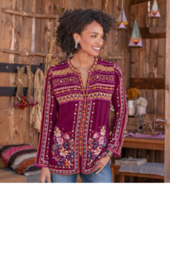 Johnny Was Dover Blouse - Product List Image