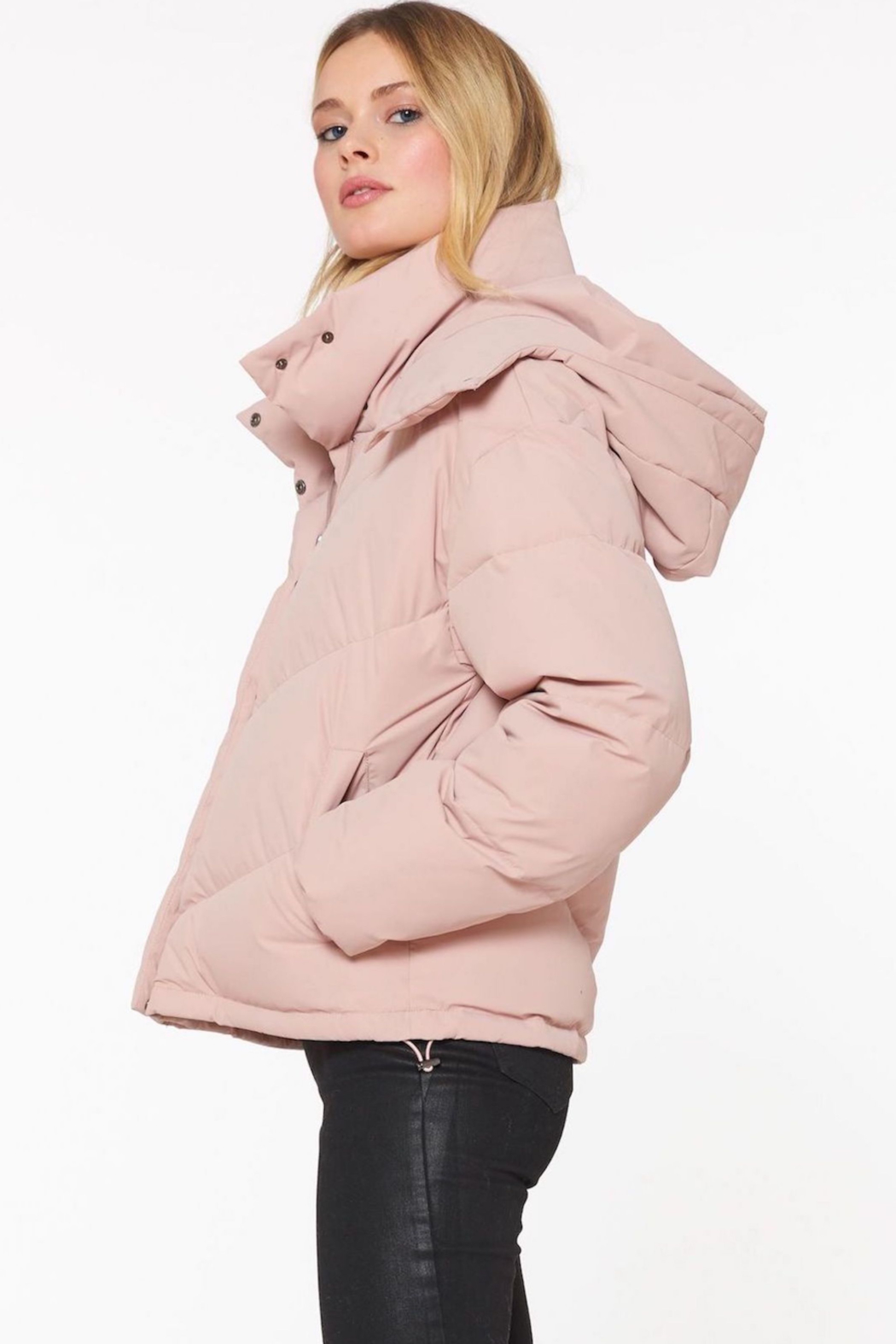 Sanctuary Down Puffer Jacket - Side Cropped Image