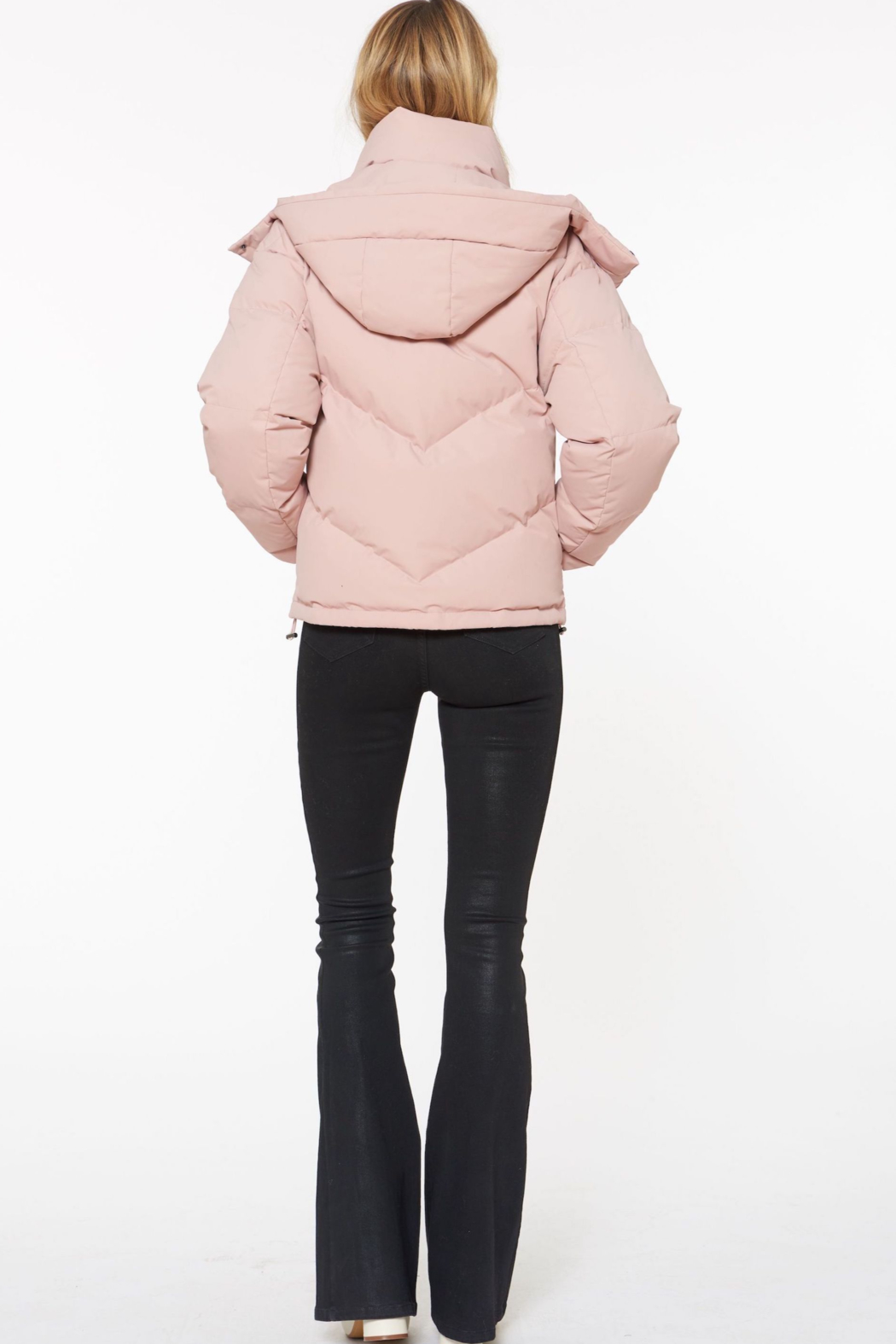 Sanctuary Down Puffer Jacket - Front Full Image
