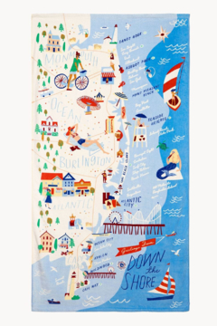 Spartina Down The Shore Beach Towel - Product List Image