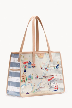 Spartina  Down The Shore Clear Beach Tote - Product List Image