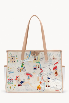 Spartina  Down The Shore Clear Beach Tote - Alternate List Image