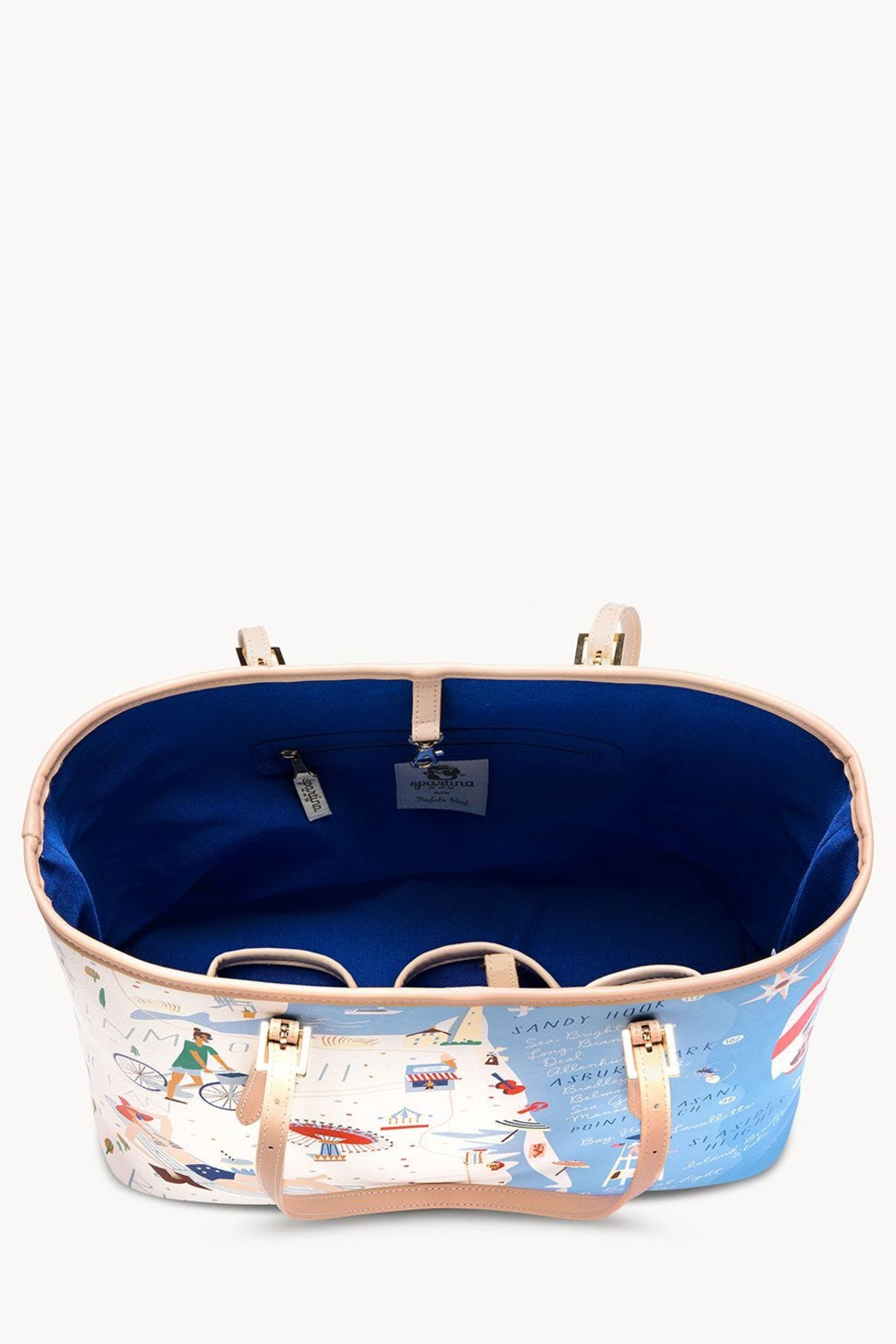 Spartina Down The Shore Large Tote - Side Cropped Image