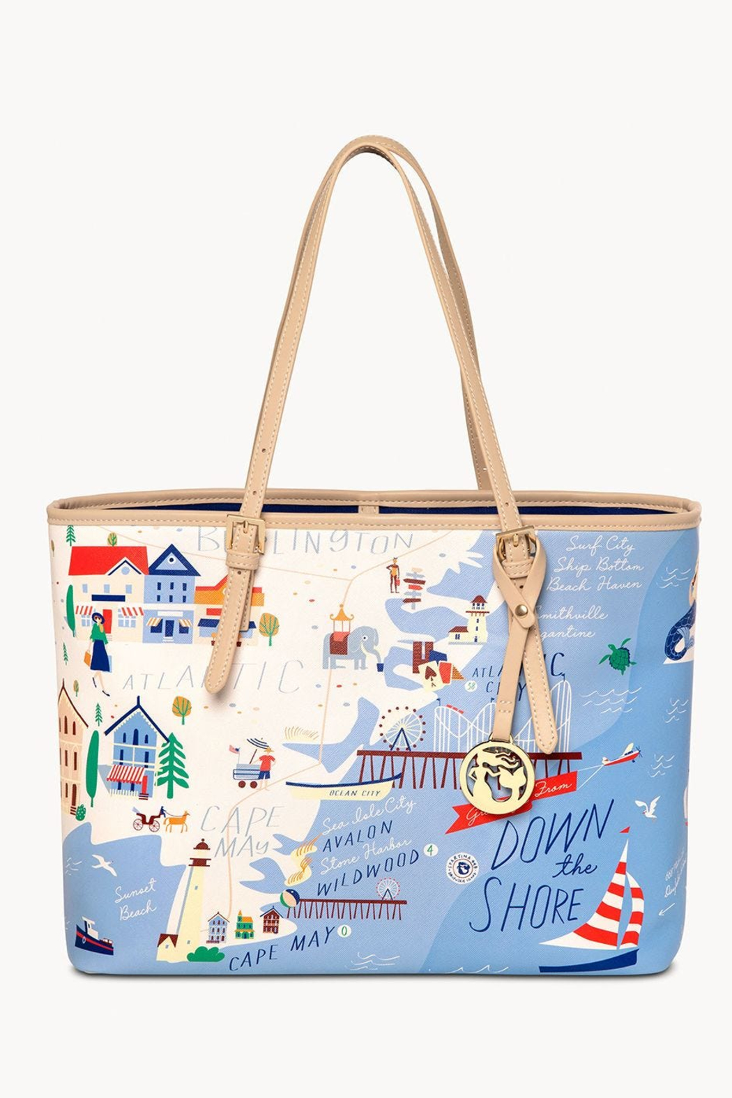 Spartina Down The Shore Large Tote - Main Image