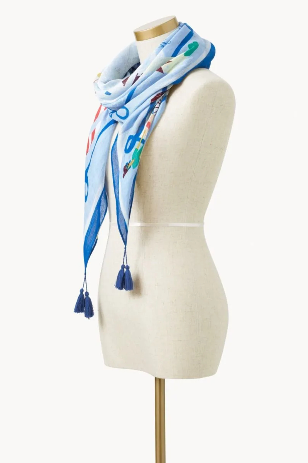 Spartina 449 Down The Shore Scarf - Front Full Image