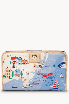Spartina Down The Shore Snap Wallet - Product List Image