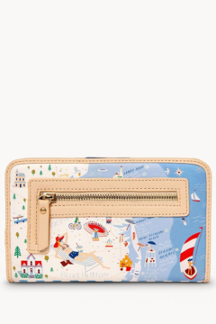 Spartina Down The Shore Snap Wallet - Alternate List Image