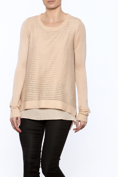 Downeast Basics Layered Look Sweater - Product List Image