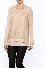 Downeast Basics Layered Look Sweater - Product Mini Image