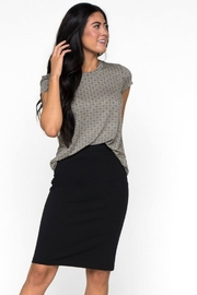 Downeast Stretch Pencil Skirt - Front full body