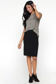 Downeast Stretch Pencil Skirt - Front cropped