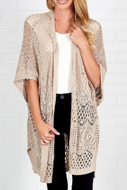 Downeast Basics Coming Home Cardigan - Front cropped