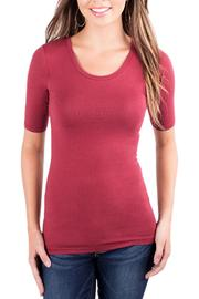 Downeast Basics Essential Half Sleeve - Side cropped
