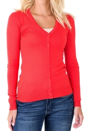 Downeast Basics Essential V-Neck Cardi - Product Mini Image