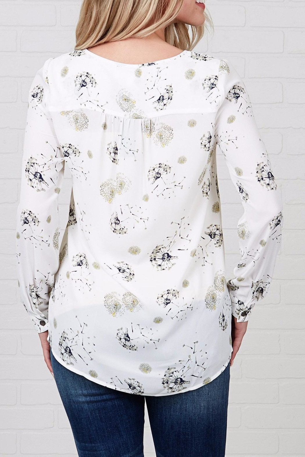 Downeast Basics Garden Love Blouse - Front Full Image