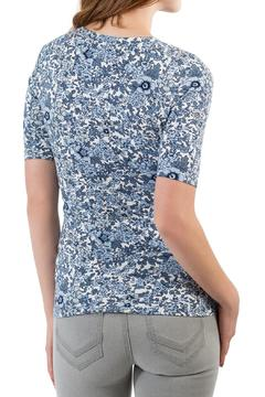Shoptiques Product: Half Sleeve Floral Top