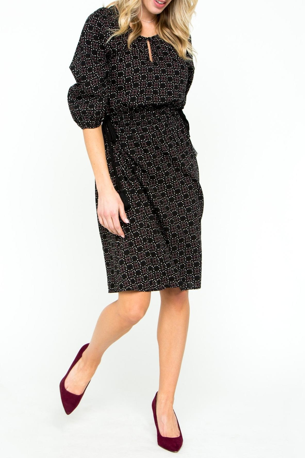Downeast Basics Holiday Dinner Dress - Front Cropped Image