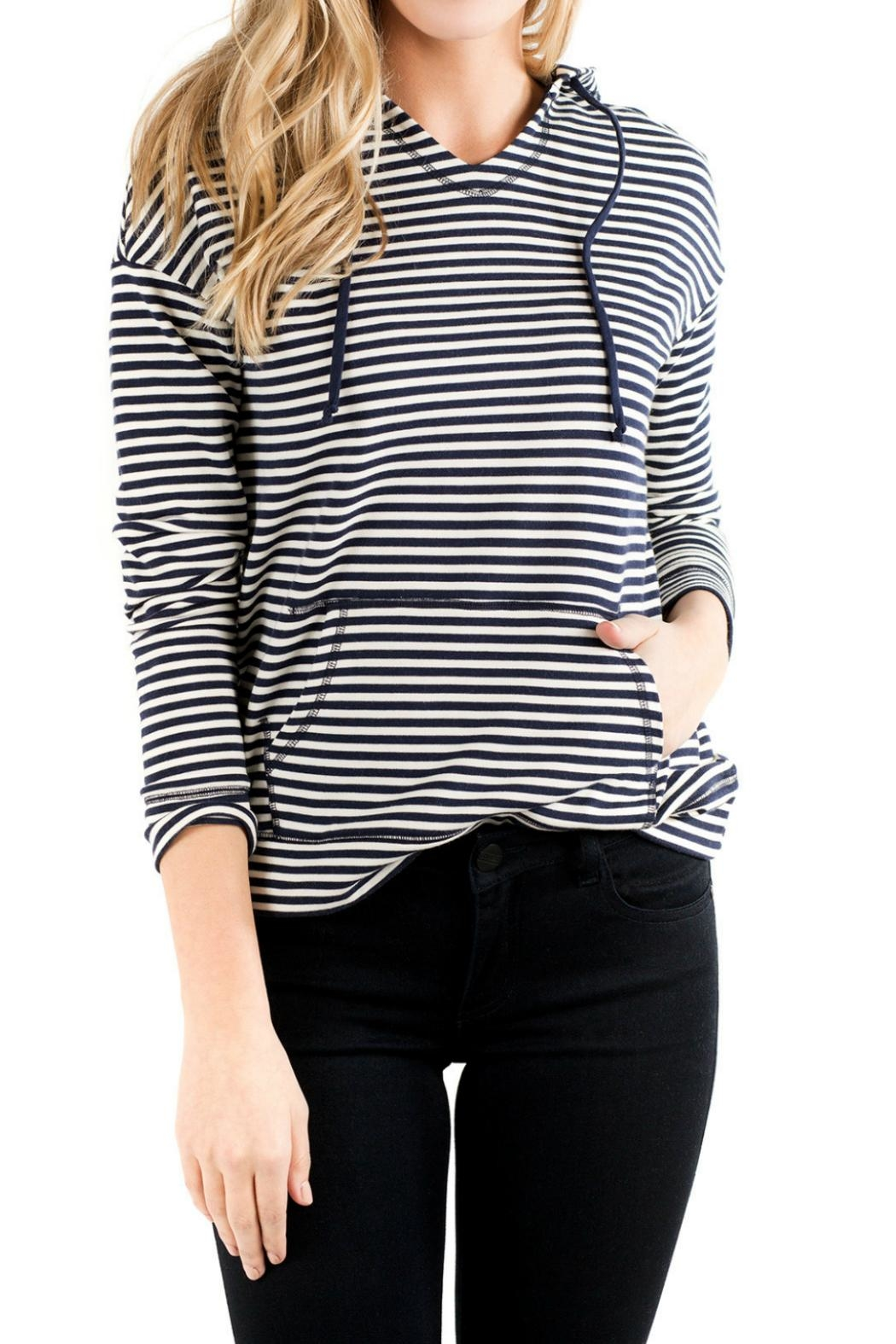 Downeast Basics Hooden Breeze Stripe - Main Image