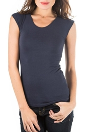 Downeast Basics Wonder Tee Navy - Product Mini Image