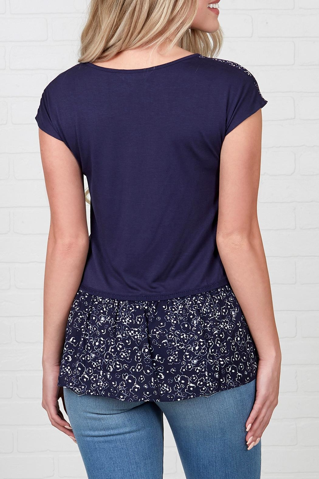Downeast Basics Rag Time Top - Front Full Image