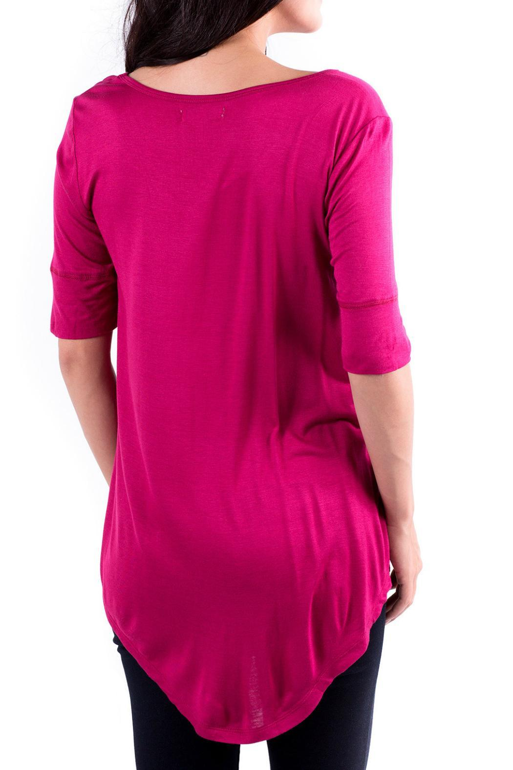Downeast Basics Sangria Hot Top - Front Full Image