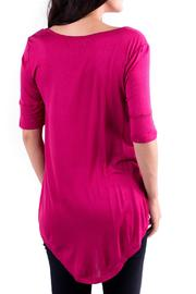 Downeast Basics Sangria Hot Top - Front full body