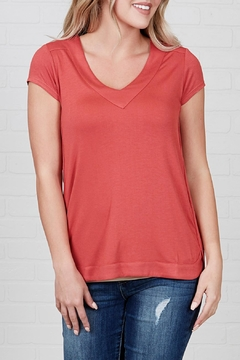 Downeast Basics Scripted Top - Product List Image