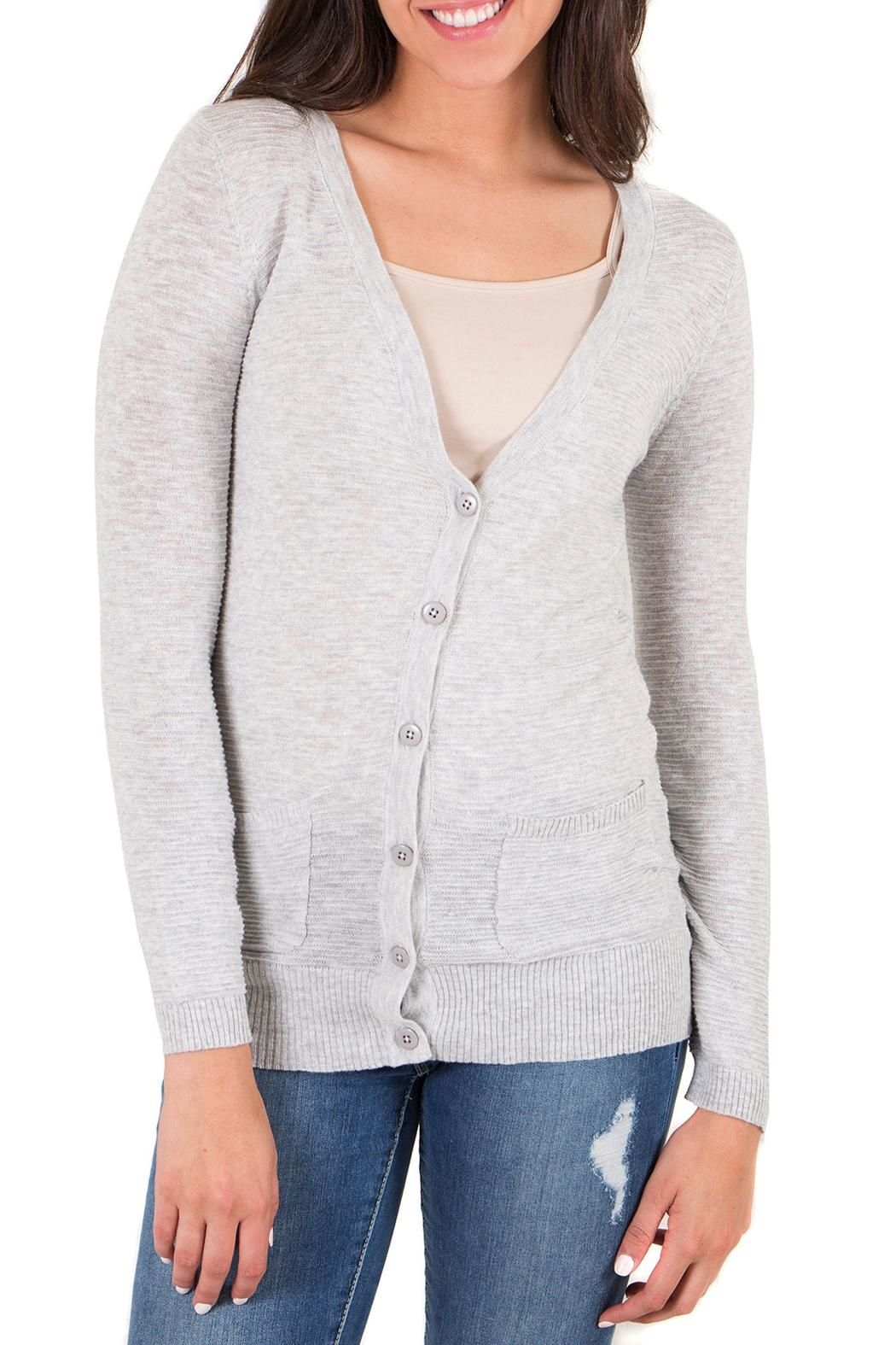 Downeast Basics Stowaway Cardigan - Front Cropped Image
