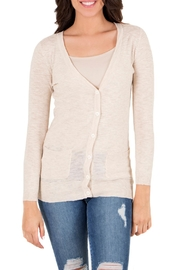 Downeast Basics Stowaway Cardi - Product Mini Image