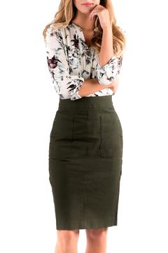 Shoptiques Product: Straight Pocket Skirt