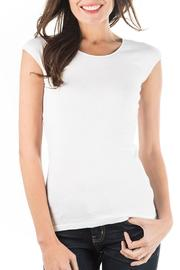 Downeast Basics Wonder Tee -  White - Product Mini Image