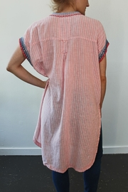 Johnny Was Downing Linen Tunic-Dress - Front full body