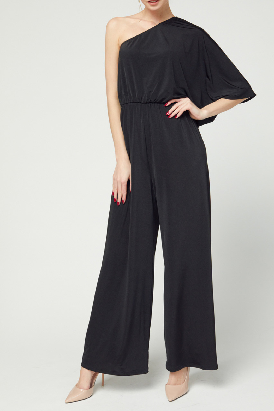 entro  Downtown Diva Jumpsuit - Front Cropped Image