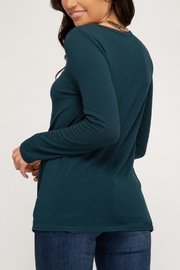 She + Sky Downtown Diva Top - Front full body