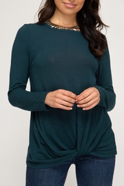 She + Sky Downtown Diva Top - Front cropped