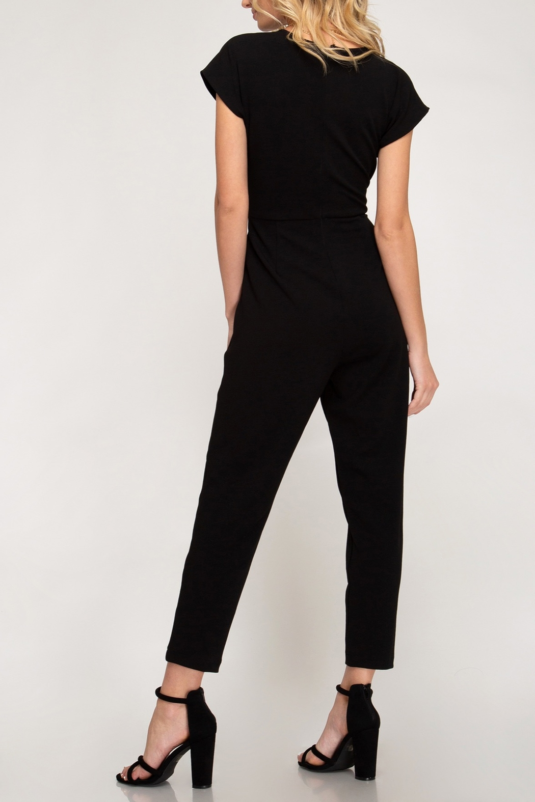 She + Sky Downtown Fun Jumpsuit - Front Full Image