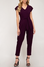 She + Sky Downtown Fun Jumpsuit - Front cropped