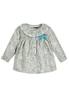 Dr. Kid Baby-Girl Floral Blouse - Product List Image