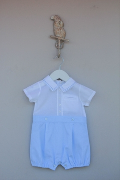 Shoptiques Product: Blue/white One-Piece